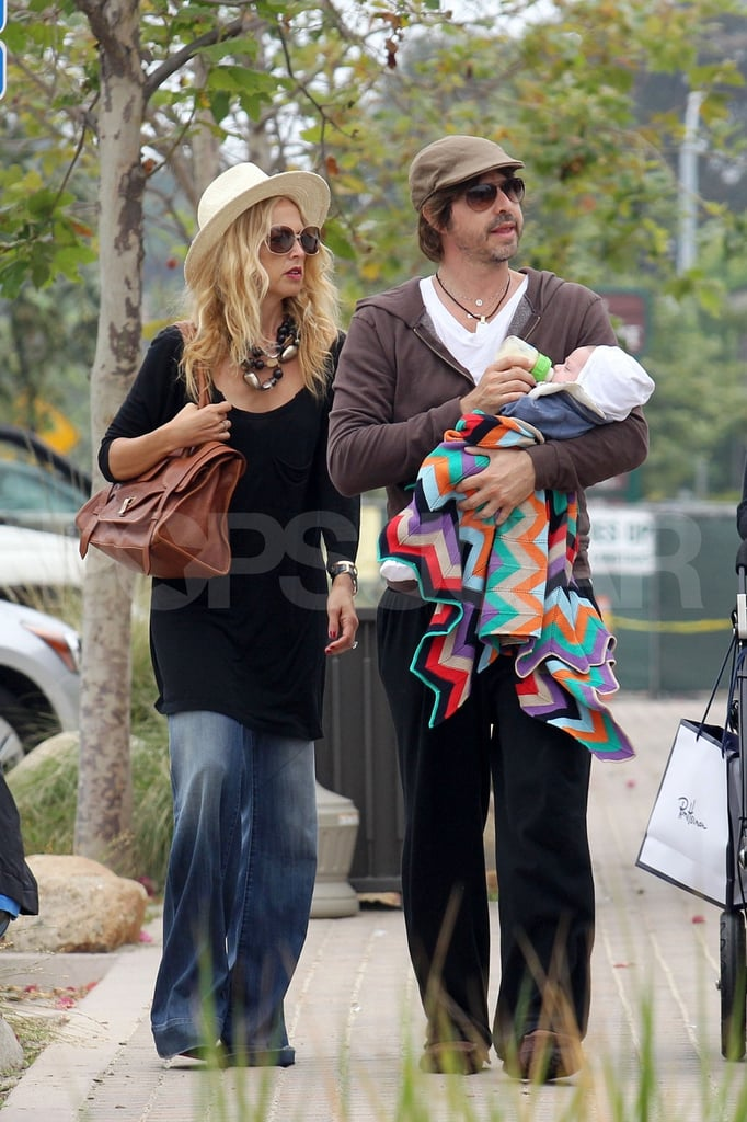 Rachel Zoe and Rodger Berman made a cute family with their son, Skyler Berman, on a weekend outing.