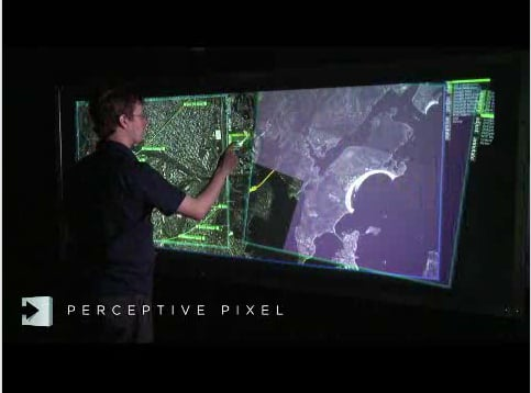 Jeff Han Demonstrates The Power Of Touch Screens