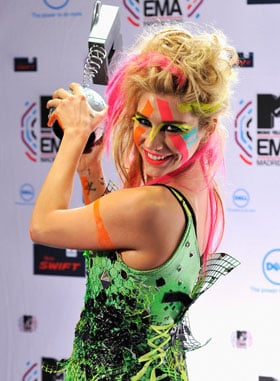 Lady Gaga & Justin Bieber Win Big at MTV EMAs 2010, Plus Full List Of Winners Inc. Kesha, Katy Perry, Paramore