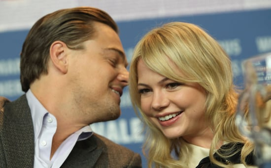 Leo-laughed-Michelle-Williams-press-conference-Shutter