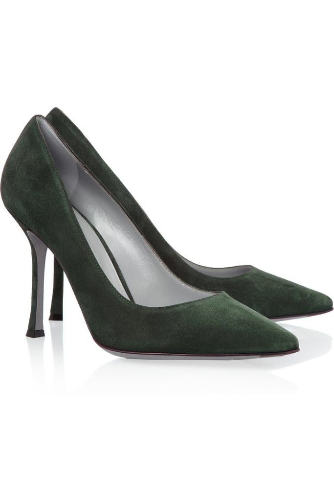 Classic with a twist, you'll wear these dark emerald Sergio Rossi pumps ($115, originally $575) for years.