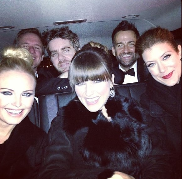 Sophia Bush rode in a car with Malin Akerman and Kate Walsh to an inauguration event on Monday night. Source: Instagram user SophiaBush