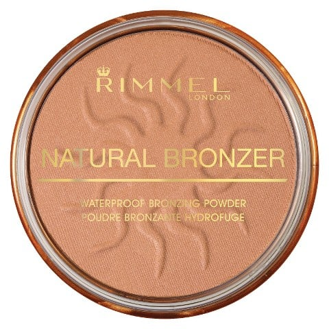 With a slight shimmer, Rimmel Natural Bronzer in Sun Shine ($4) gives a perfectly radiant glow.
