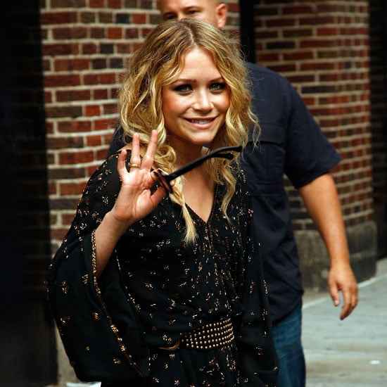 Photos of Mary-Kate Olsen At Letterman