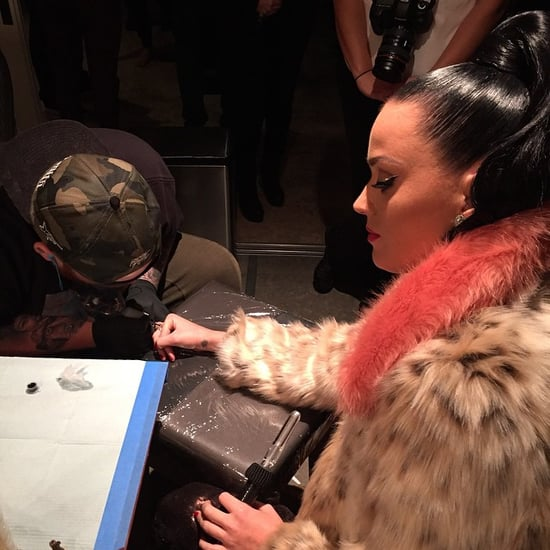 Katy Perry and John Mayer Hanging Out After the Super Bowl