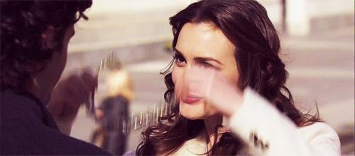 But she doesn't let it get her down, because she's Blair effing Waldorf.