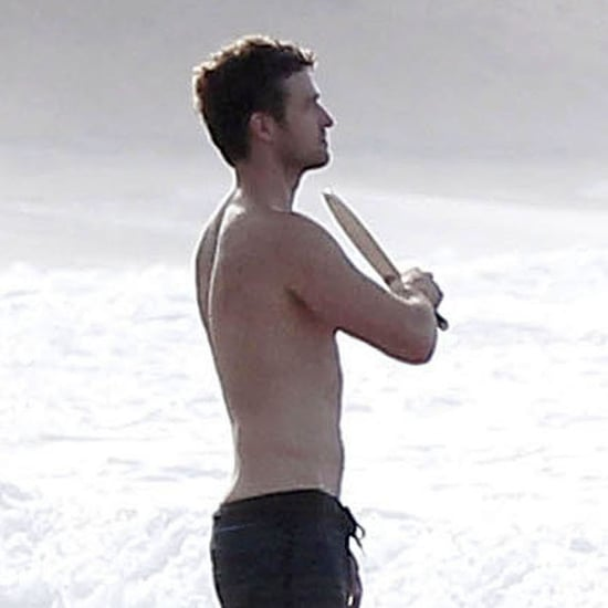 Shirtless Justin Timberlake in Puerto Rico Pictures