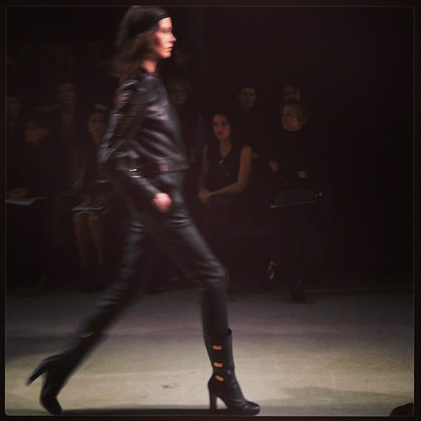 Superchic in all black at Maiyet.