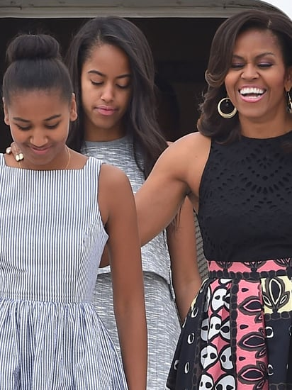 Michelle, Malia And Sasha Obama Just Wore The Most Elegant Summer Ensembles