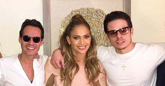 Jennifer Lopez Poses With Marc Anthony, Casper Smart After Shout-Out to Ex in Concert