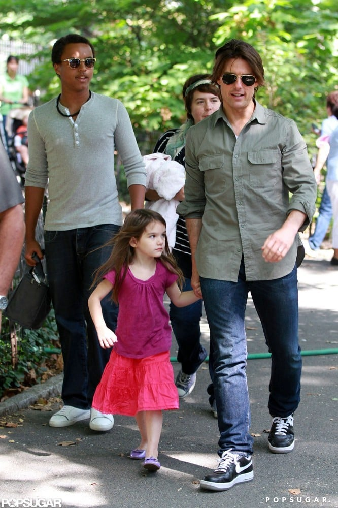 Tom Cruise has a daughter and a son, Connor and Isabella, with ex-wife Nicole Kidman, and his youngest daughter, Suri, with Katie Holmes. The Cruise gang spent the day with Dad in Central Park in September 2010.