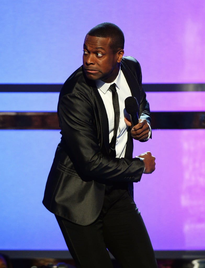 Chris Tucker joked around at the BET Awards.