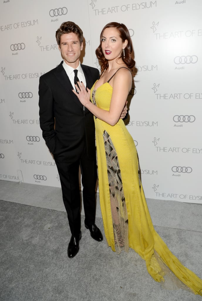 Eva Amurri and her husband Kyle Martino attended The Art of Elysium's sixth annual Heaven gala.