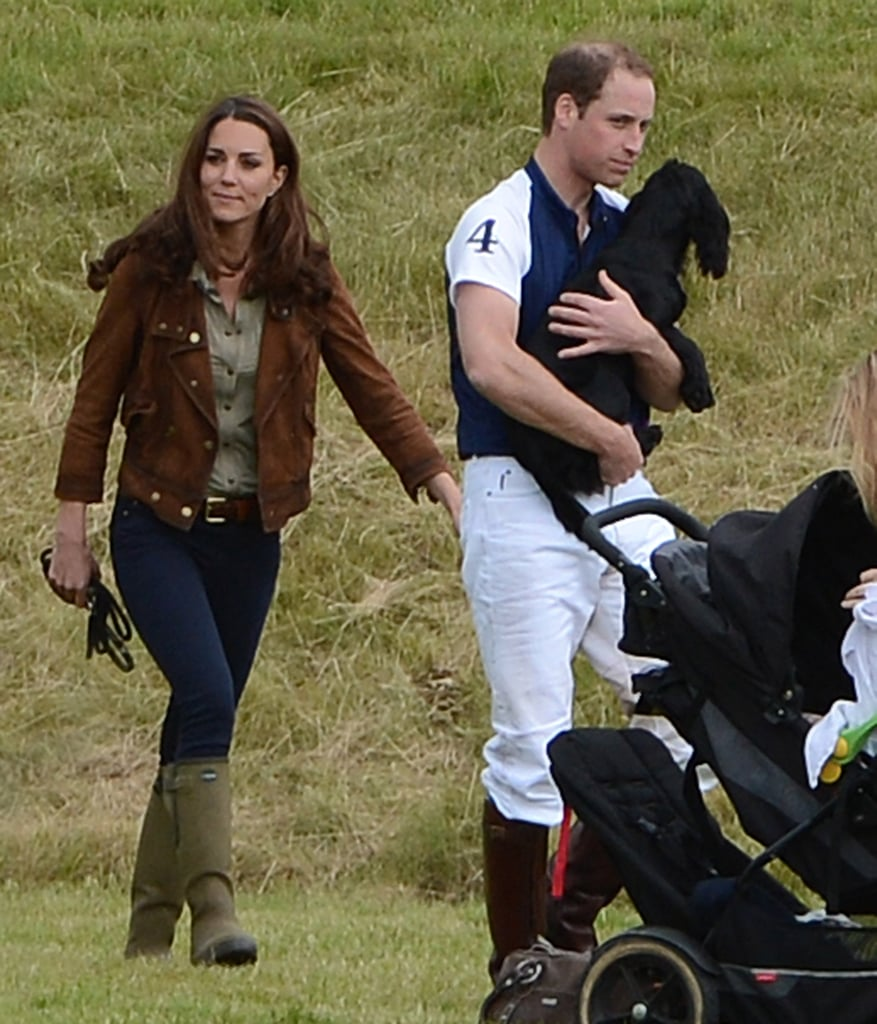 Kate and William attended a polo match.