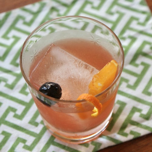 Gin New-Fashioned Cocktail Recipe