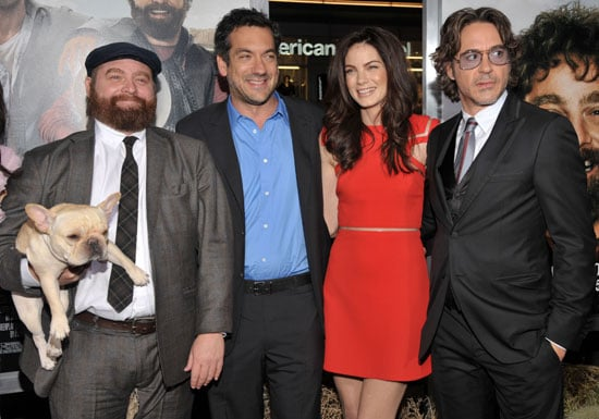 Zach Galifianakis, Robert Downey Jr., Todd Phillips and More at Due Date LA Premiere