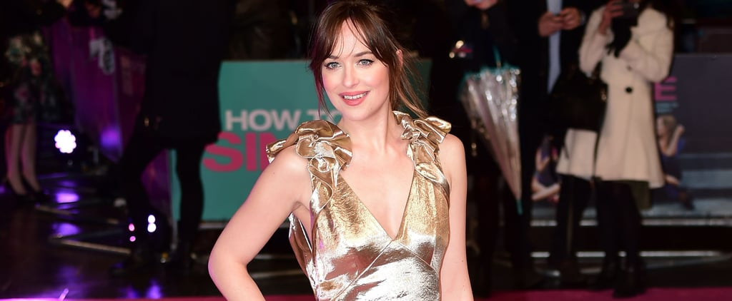 Gold Is Dakota Johnson's Colour — as Proven by This Gown