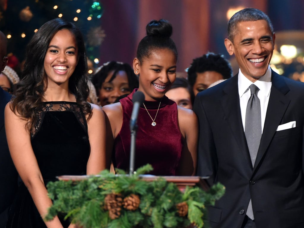 "In his December 2015 interview with GQ, Barack revealed whether anyone ever come to the White House to pick up Malia for a date: ""No, but I've seen some folks glancing at her in ways that made me not happy."""
