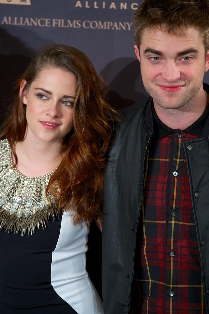 Kristen Stewart and Robert Pattinson were out in Madrid.