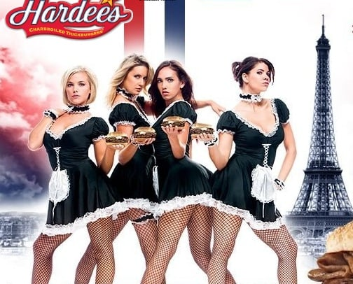 """New Hardee's """"French Maids"""" In-Store Campaign"""
