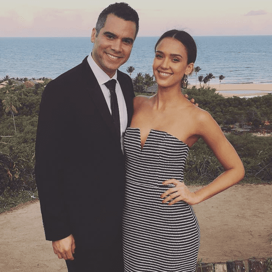 Jessica Alba and Cash Warren Instagrams