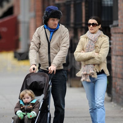 Rachel Weisz, Darren Aronofsky and Henry Aronofsky Out in NYC