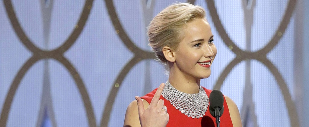 Watch Jennifer Lawrence Straight-Up Roast a Reporter at the Golden Globes