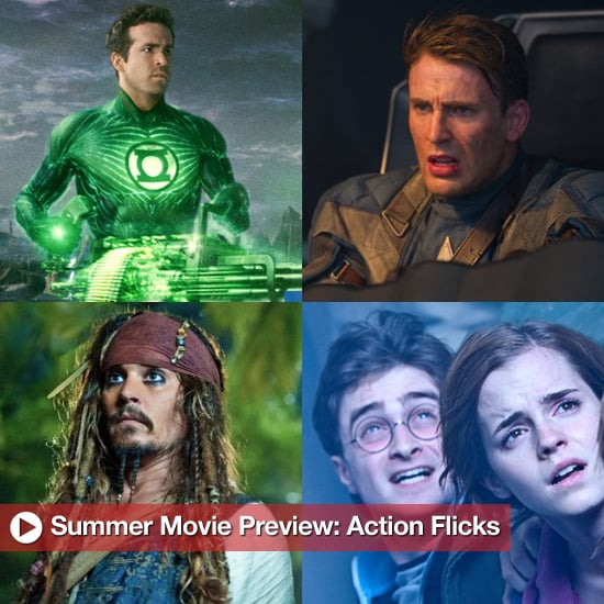 Summer Movie Preview of Action Movies