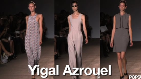 Spring 2011 New York Fashion Week: Yigal Azrouël 2010-09-09 18:27:16