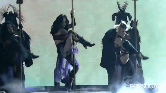 Katy Perry Channels Her Dark Side On Stage