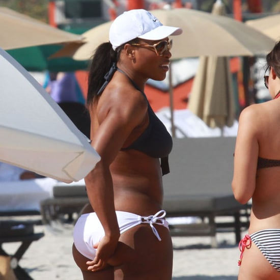 Serena Williams Bikini Pictures in Miami