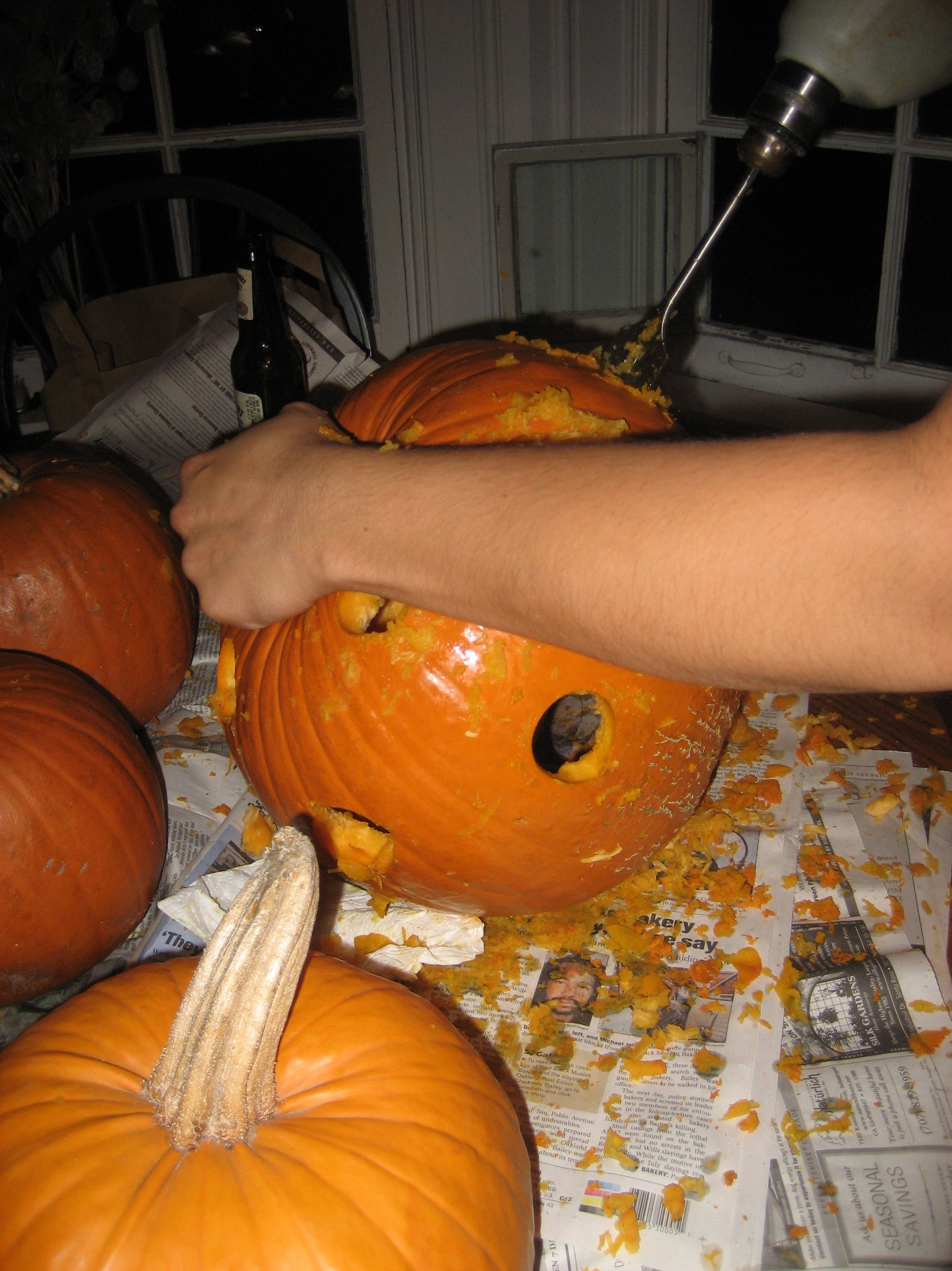 Behind the Scenes: My Halloween Party