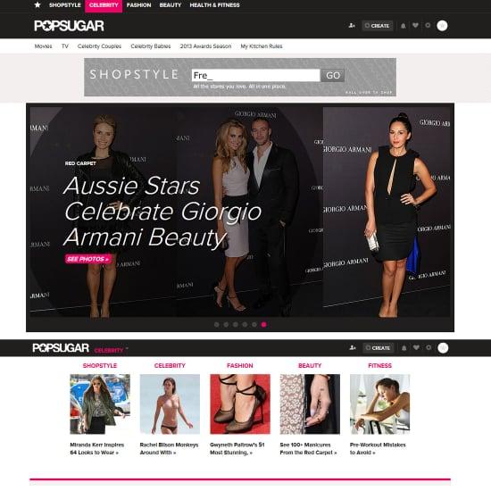 POPSUGAR Australia Has Had a Redesign!