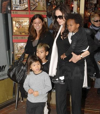 The Jolie-Pitt Brood Takes on Manhattan
