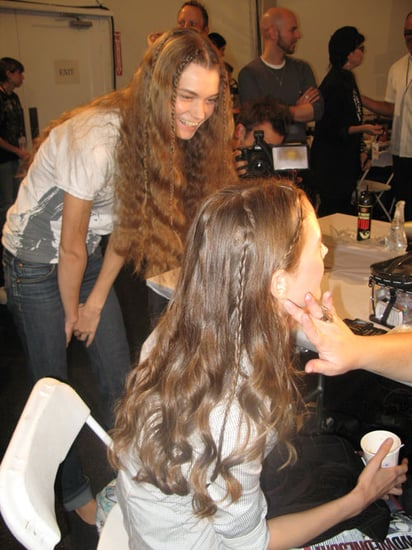 Spring 2009 Fashion Week Nanette Lepore Hair and Makeup