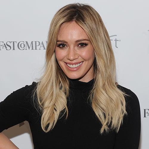 Hilary Duff Haircut 2015