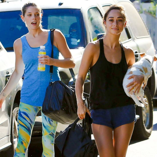Kardashians at the Gym and Karlie Kloss Exercise