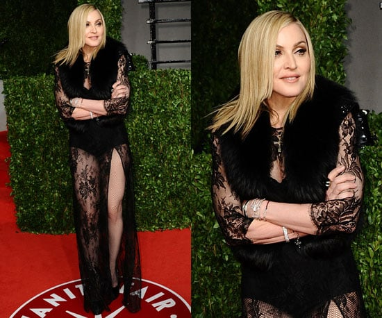 Madonna at Vanity Fair Oscars Party 2011