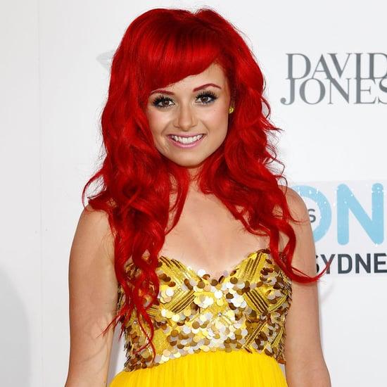 Pictures of Sarah De Bono at the 2012 ARIA Awards