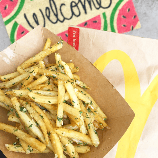 McDonald's New Gilroy Garlic Fries