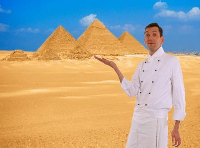 Dine With the Pharaohs for Less Than $10,000