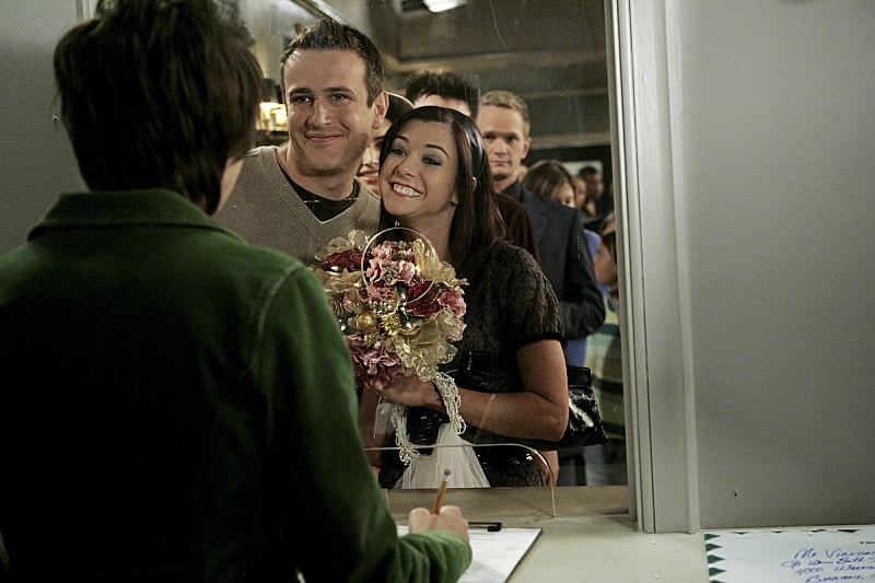 Marshall and Lily are such an old married couple now (in the best way possible), but it's great seeing them when they were a bit younger.