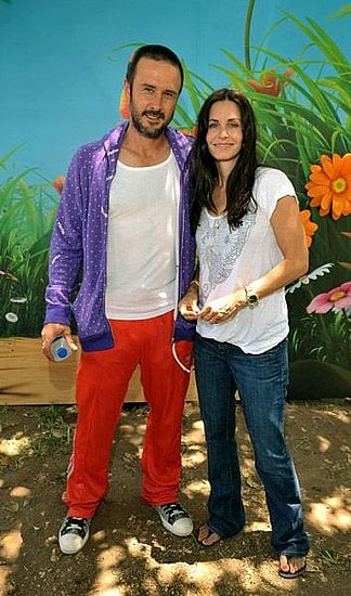 Courteney and David are Ready to Plant a Garden