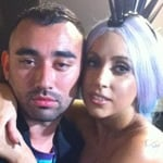 Nicola Formichetti and Lady Gaga Work Together at Thierry Mugler