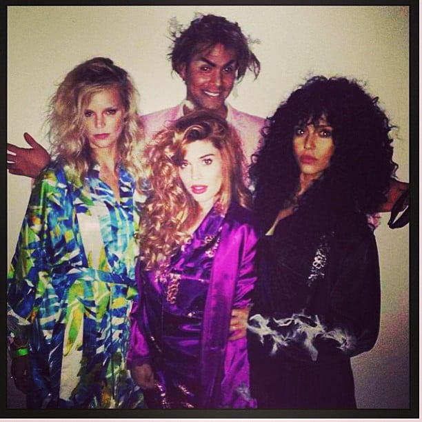 Jessica Alba channeled Cher's character from The Witches of Eastwick. Source: Instagram user jessicaalba