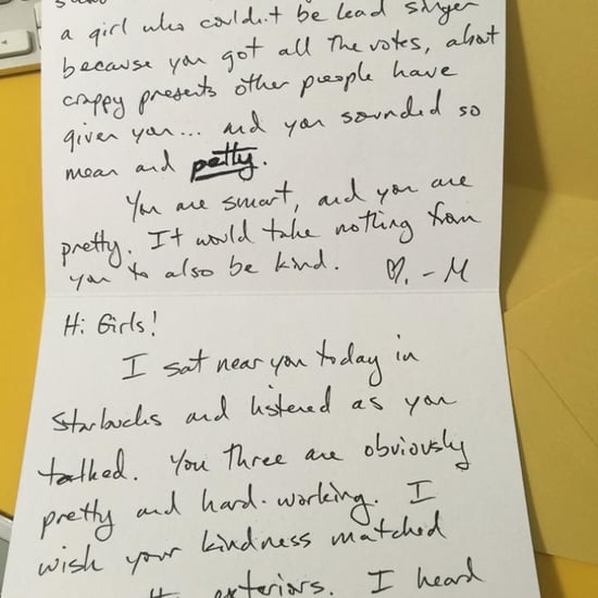 Mom Writes Note to Mean Girls in Starbucks