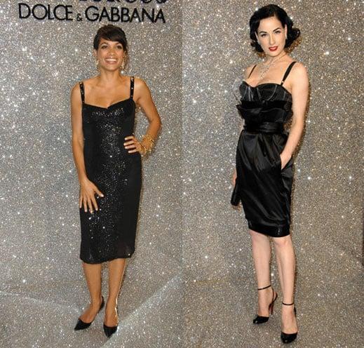 Battle of the Dolce & Gabbana: Dawson vs. von Teese