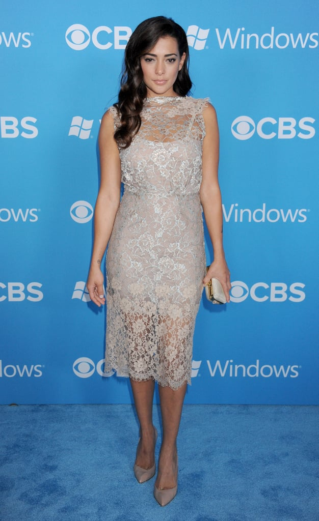 Natalie Martinez stepped out for the CBS Fall premiere party in LA.
