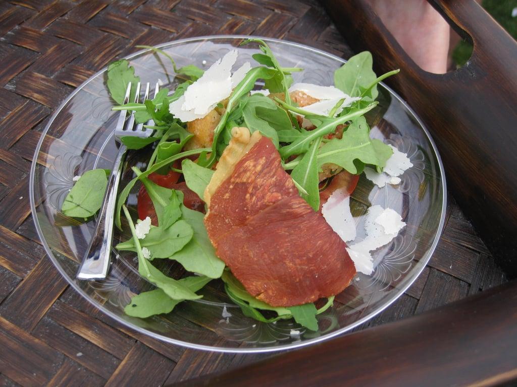 Tomato Salad With Prosciutto