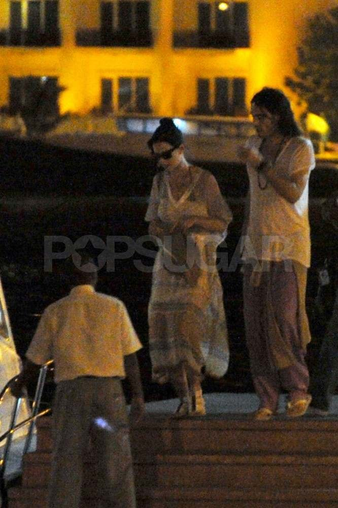Russell Brand and Katy Perry headed to the Maldives to celebrate their marriage in 2010.